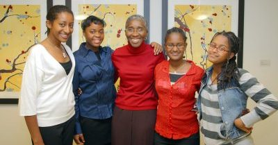 Shireen K. Lewis (3rd from left)